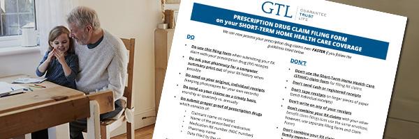 GTL HHC Prescription Drug Claims Form