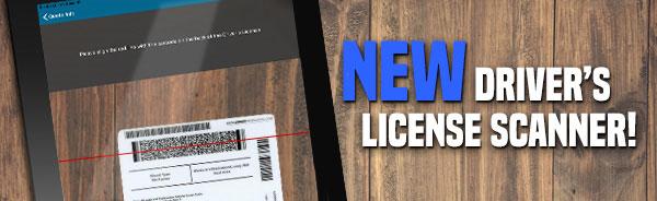 New Driver's License Scanner