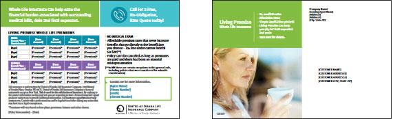 Living Promise Customizable Postcard image