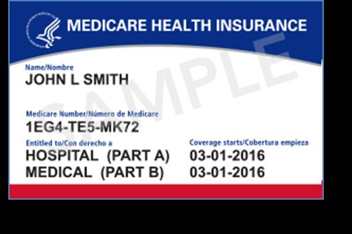 New Medicare Card Image