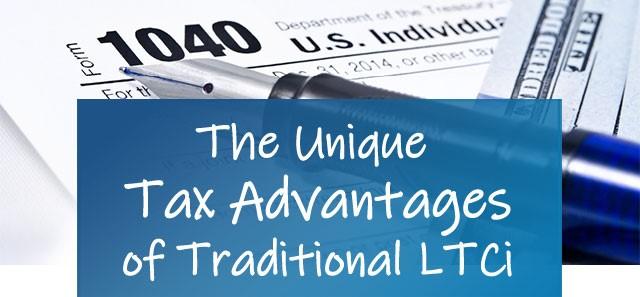 The Unique Tax Advantages of Traditional LTCi